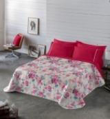 Comprar Colcha Bouti Iris Rosa - 240x270