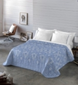 Comprar Colcha Bouti Minerva Azul Cobalto - 240x270