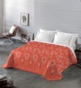 Comprar Colcha Bouti Minerva Coral - 240x270