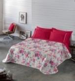 Comprar Colcha Bouti Iris Rosa - 200x270